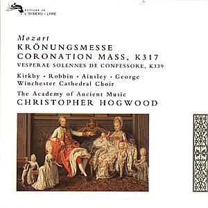KRÖNUNGSMESSE KV 317/VESPERAE SOLENNES/+