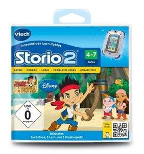 VTech 80-231604 - Storio 2 Lernspiel: Jake und die Nimmerland Pi