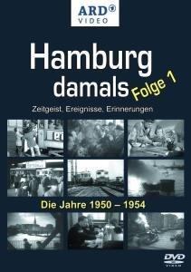 Hamburg damals 1. Die Jahre 1950 - 1954. DVD-Video