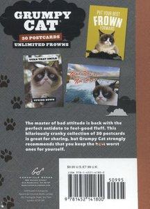Grumpy Cat Postcard Book