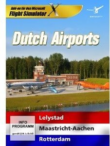 Flight Simulator X - Dutch Airports