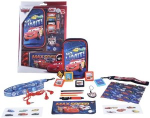 Zubehör Set 16in1 Disney Cars Speed Circuit für Nintendo DS Lite