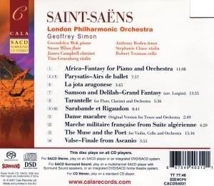 Africa; Samson and Delilah Fantasy La Jota Aragone