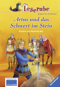 Leserabe: Artus und das Schwert im Stein