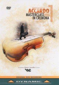 S.Accardo: Meisterklassen in Cremona,vol.1