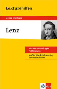 """Klett Lektürehilfen Georg Büchner """"Lenz"""""""