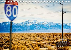 Die USA und ihre großen Straßen (Tischkalender 2016 DIN A5 quer)