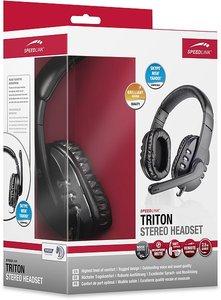 TRITON Stereo Headset, black-silver