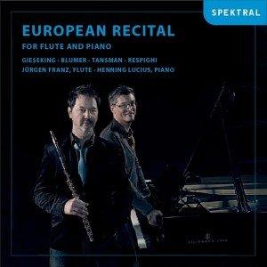European Recital-Werke Für Flöte Und Klavier