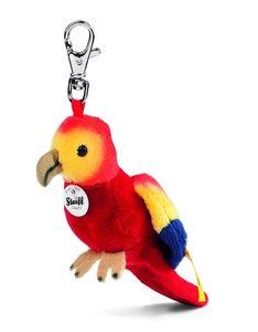 Steiff 112287 - Schlüsselanhänger Papagei, 12 cm