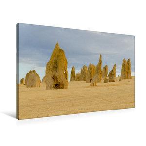 Premium Textil-Leinwand 75 cm x 50 cm quer Pinnacles