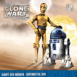 The Clone Wars 04: Kampf der Droiden / Superheftig Jedi