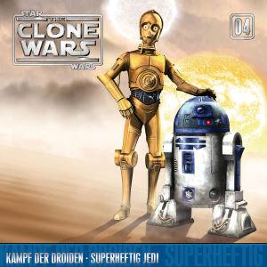 The Clone Wars 04: Kampf der Droiden / Superheftig Jedi