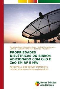 Propriedades dielétricas do BiNbO4 adicionado com CuO e ZnO em R