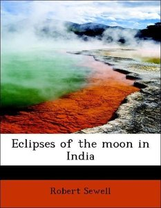 Eclipses of the moon in India
