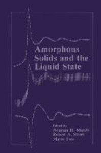 Amorphous Solids and the Liquid State