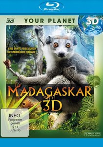 Madagaskar-Blu-ray Disc-3D