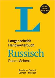 Langenscheidt Handwörterbuch Russisch Daum/Schenk - Buch mit Onl