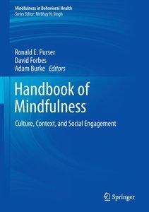 Handbook of Mindfulness