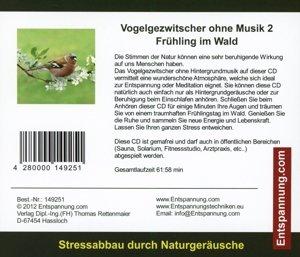 Vogelgezwitscher ohne Musik 2-Frühling im Wald