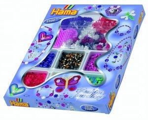 Hama 3711 - Schmuck Boutique, Geschenkset, 2500 Perlen