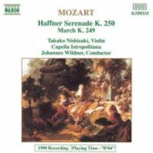 Haffner-Serenade/Marsch KV 249