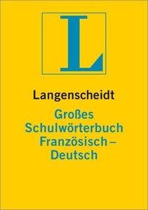 Langenscheidt Großes Schulwörterbuch Französisch-Dt.