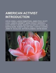 American activist Introduction