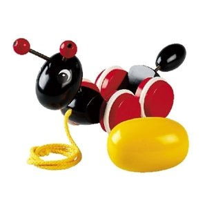 Pull Along Ant with Egg: Brio