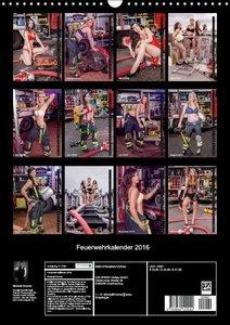 Feuerwehrkalender 2016 (Wandkalender 2016 DIN A3 hoch)