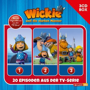 Wickie 3-CD Hörspielbox zur neuen TV-Serie (CGI) Vol. 1