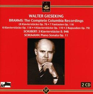 Walter Gieseking,Klavier