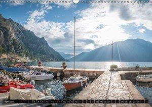 Gardasee - Impressionen aus der Lombardei (Wandkalender 2017 DIN