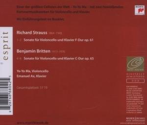 Esprit/Sonaten f.Cello+Klavier