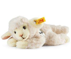 Steiff 280030 - Linda Lamm, wollweiss, liegend, 22cm