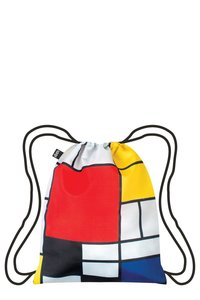 LOQI Backpack PIET MONDRIAN Composition Red Yellow Blue Black