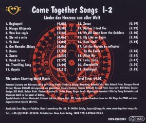 Come Together Songs I-2