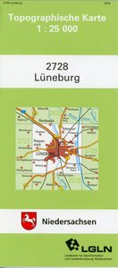 Lüneburg 1 : 25 000. (TK 2728/N)