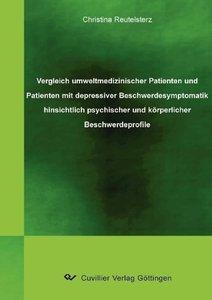 Vergleich umweltmedizinischer Patienten und Patienten mit depres