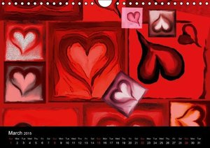 Wholeheartedly / UK-Version (Wall Calendar 2015 DIN A4 Landscape