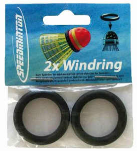 Speedminton - Wind Rings, 2er Pack, Windringe für Spedder