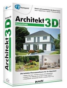 Architekt 3D X9 Essentials - Planungssoftware für Ihr Eigenheim