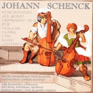 Fünf Sonaten op.2 für Gambe & B.C.