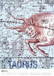Sternzeichen (Wandkalender 2014 DIN A3 hoch)