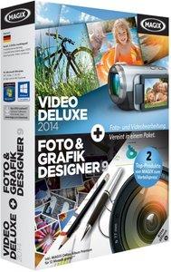MAGIX Video Deluxe 2014 + MAGIX Foto Grafik Designer 9