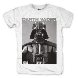 Darth Vader Photo,T-Shirt,Größe M,Weiß