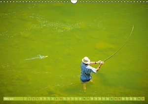 Angling - water, solitude and nature (Wall Calendar 2015 DIN A3