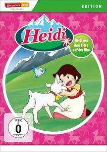 Heidi und ihre Tiere auf der Alm