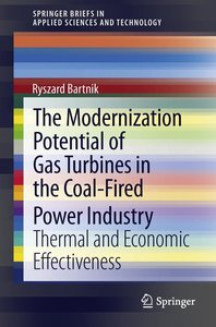 The Modernization Potential of Gas Turbines in the Coal-Fired Po