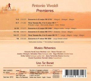 Premieres-Concerti und Sonaten